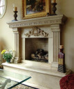 antique fireplace mantels and surrounds