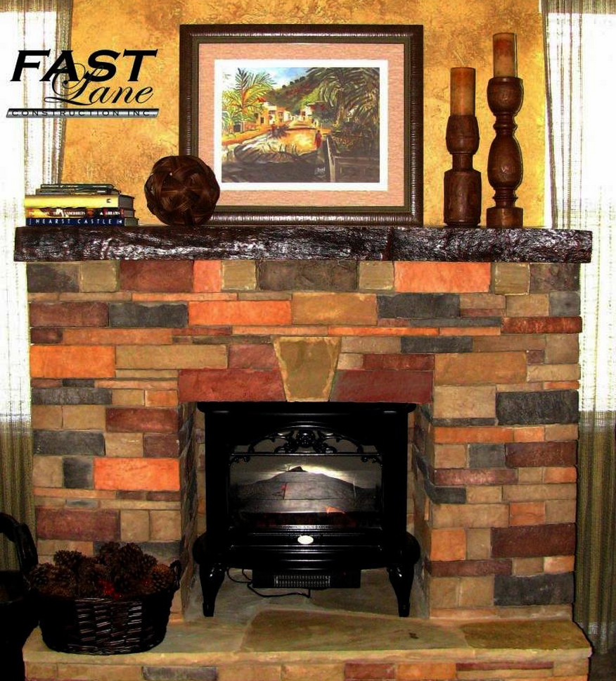 antique stone fireplace mantels