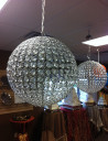 ball shaped chandeliers