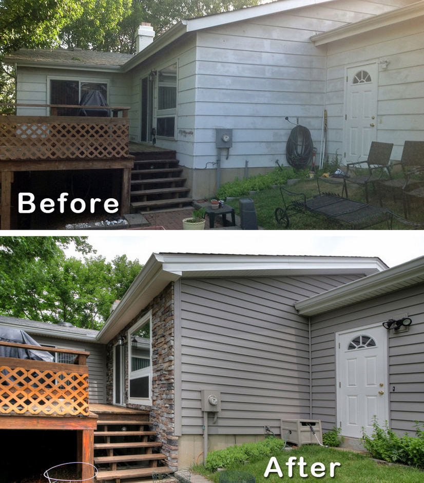 Ranch house remodel and the options you have to do it interior design ideas - Home exteriors before and after ...