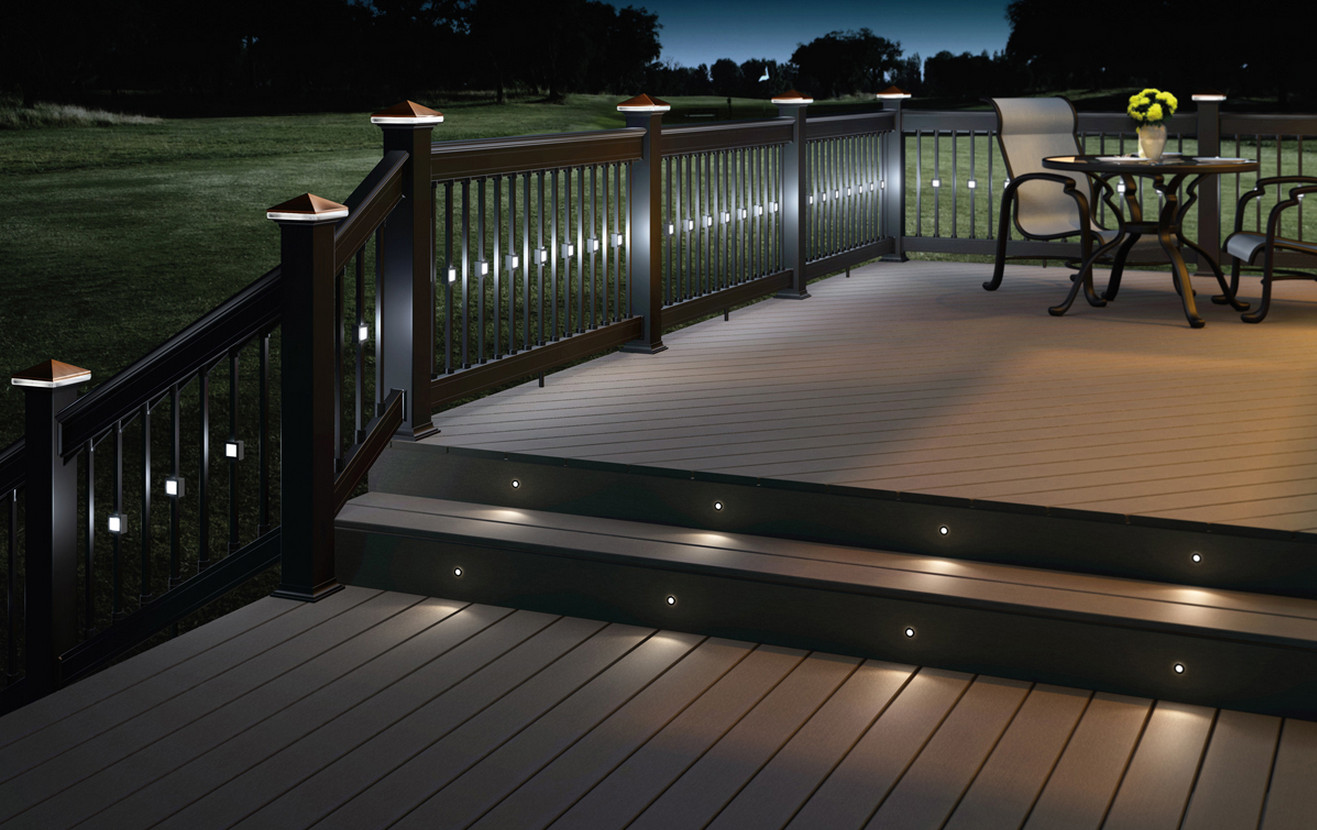 Led deck lights and why you should use them interior - How to use lights to decorate your patio ...