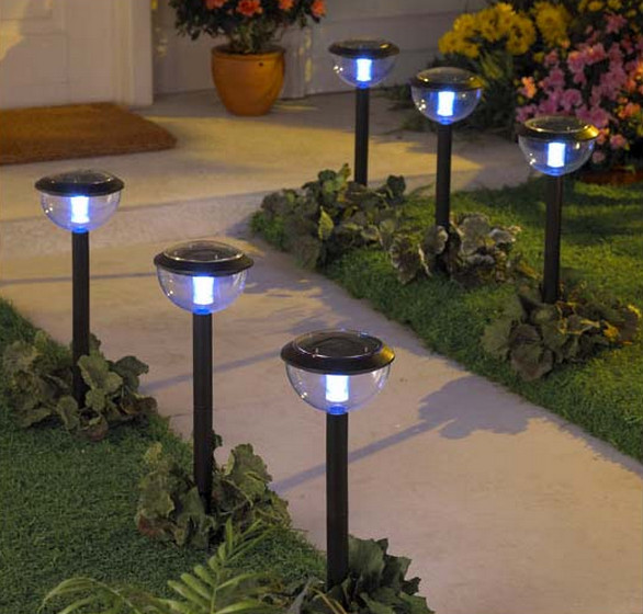best solar landscape - Solar Pathway Lights
