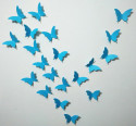 blue butterfly wall stickers