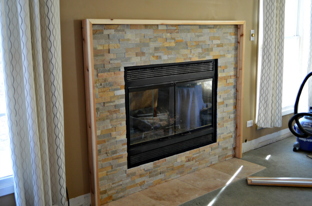 build your own fireplace mantel