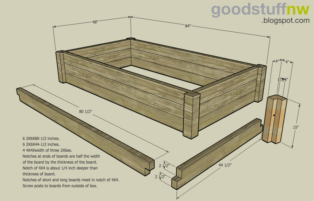 building an elevated garden bed