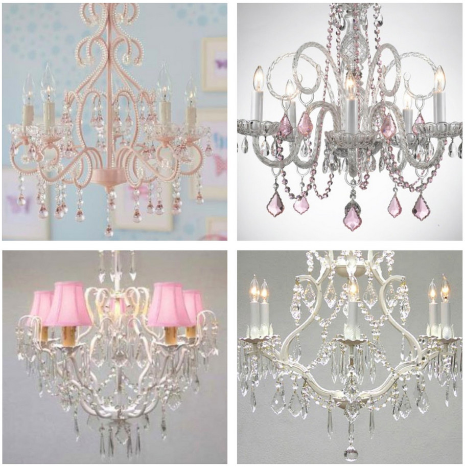 Chandelier For Baby Girl Room Interior Design Ideas