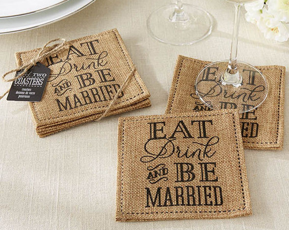 coaster wedding invitations