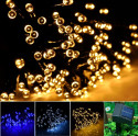 colored patio string lights