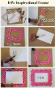 cool ways to decorate picture frames