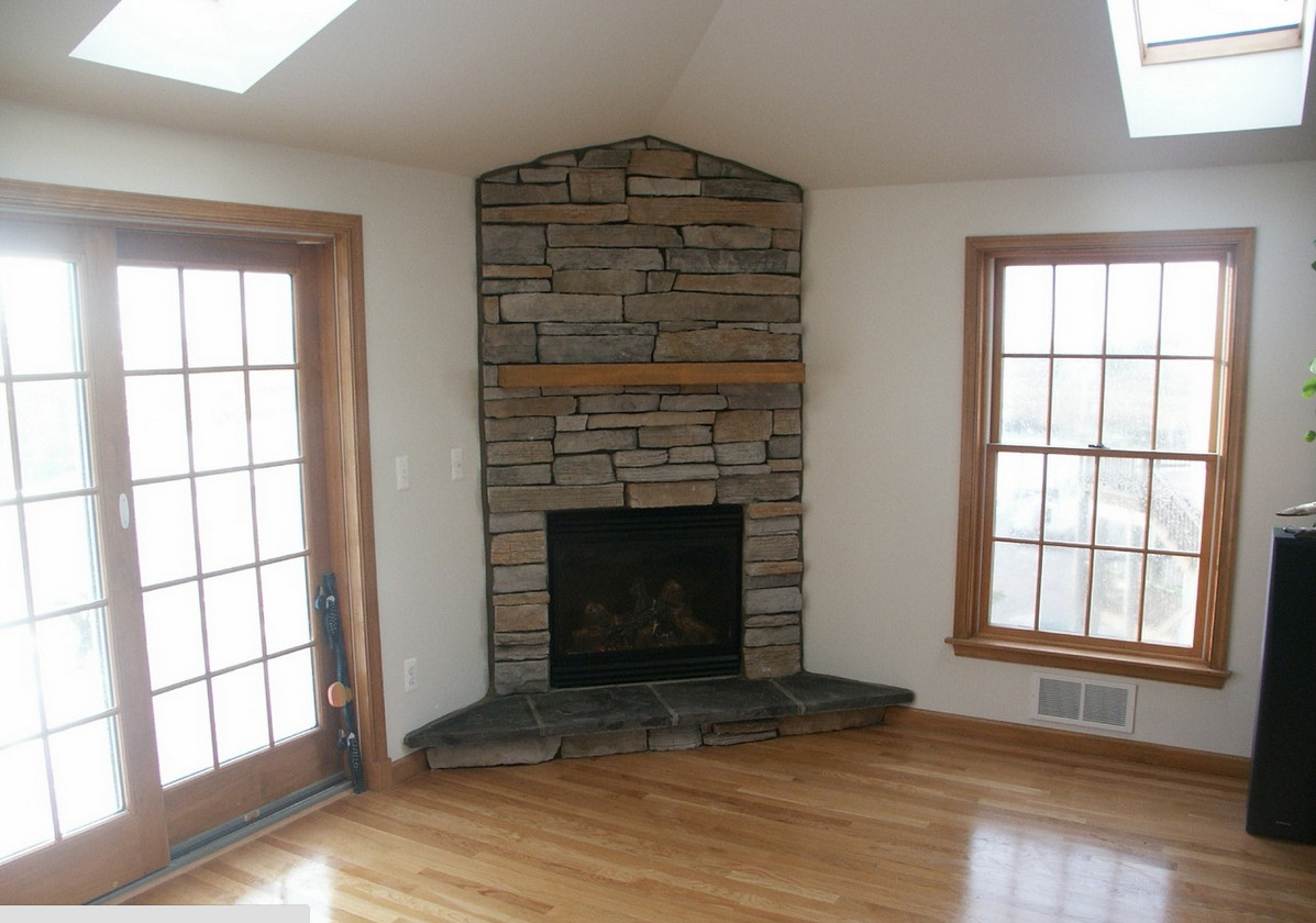 corner stone fireplace mantels