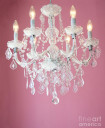 crystal chandelier for baby girl room