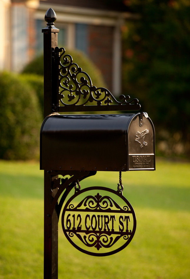 decorative mailboxes with post