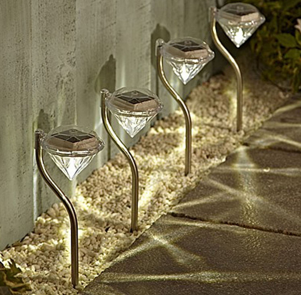 decorative solar lights for gardens