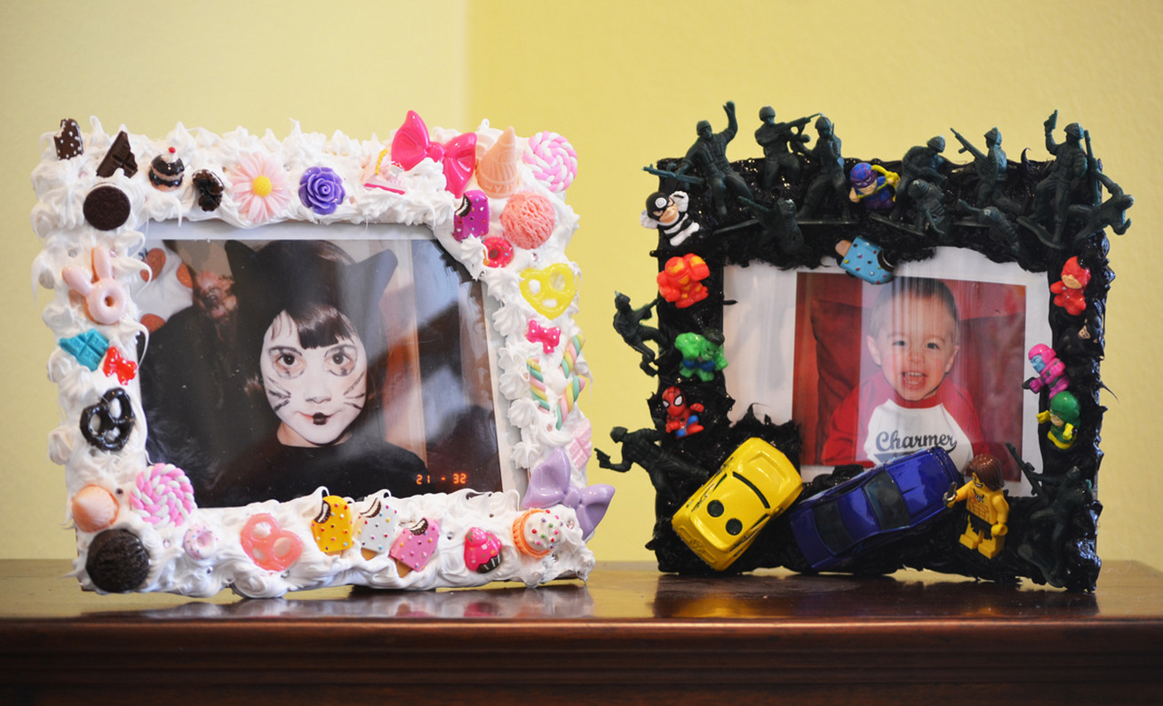 diy decorating picture frames