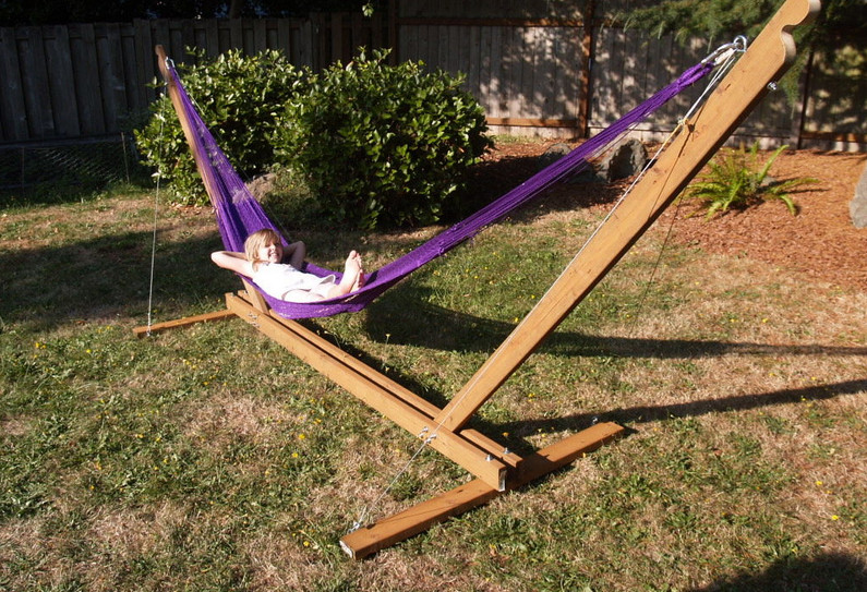 diy hammock chair stand