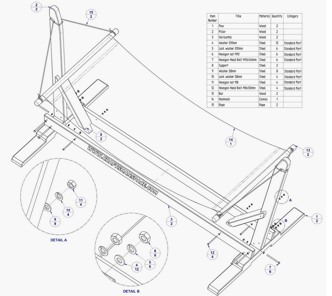 diy hammock stand plans
