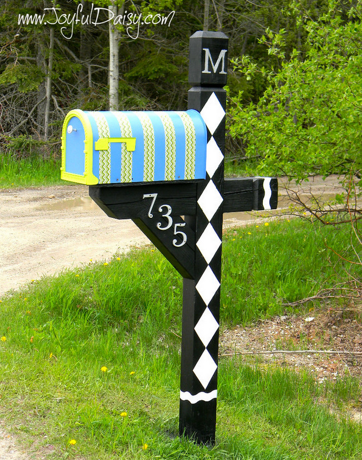Diy Large Mailbox | Interior Design Ideas