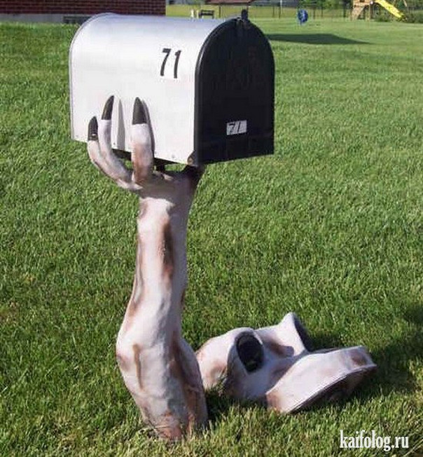 diy mailbox post designs