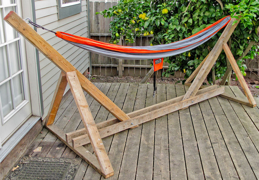 Diy Indoor Hammock Stand | Interior Design Ideas