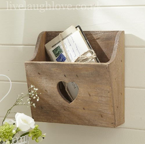 diy wall letter holder