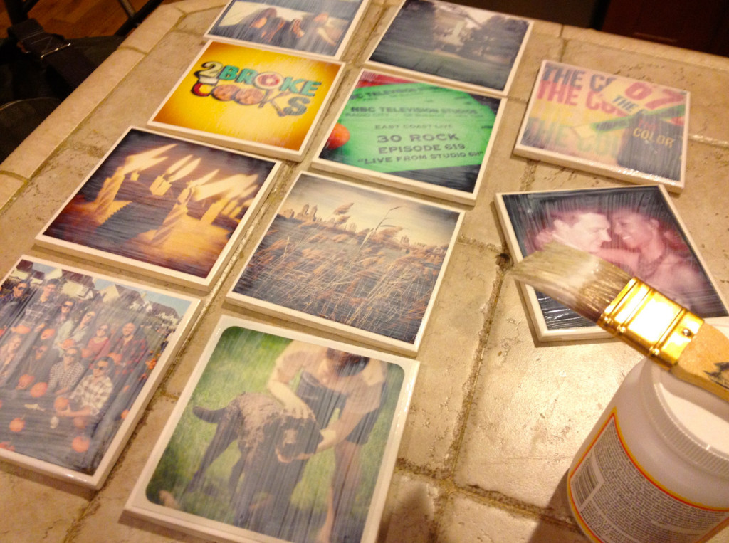 do it yourself coasters with photos