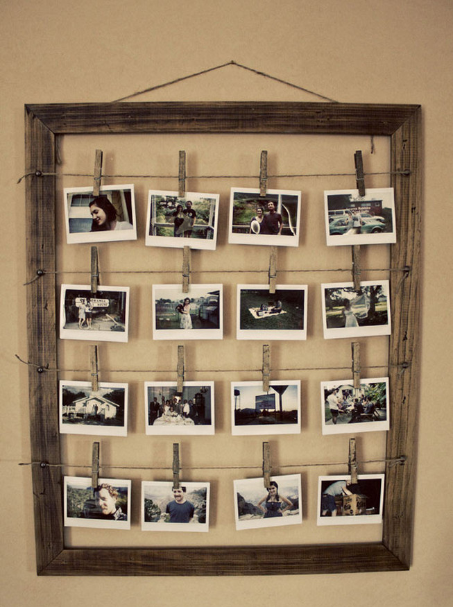 do it yourself picture frame ideas