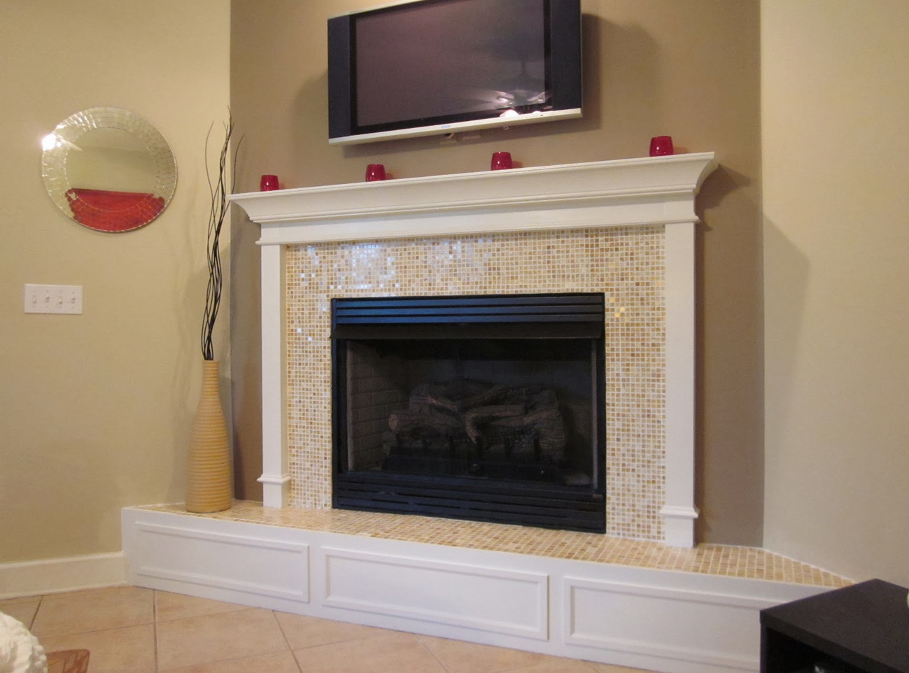 Fireplace Mantels And Surrounds Ideas Custom Fireplace Mantels And Surrounds Ideas  Interior Design Ideas Decorating Design