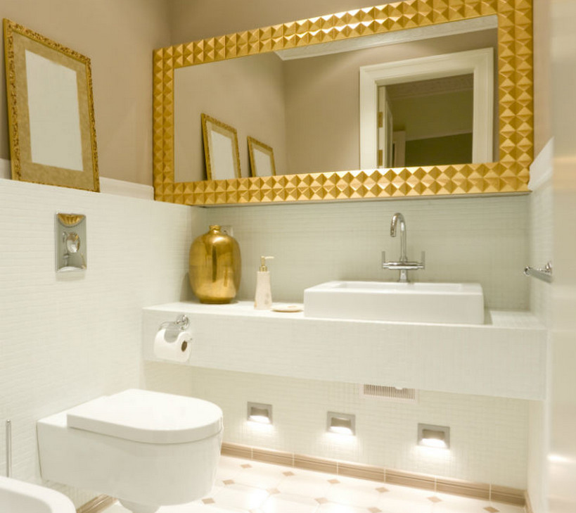 frame your bathroom mirror interior design ideas