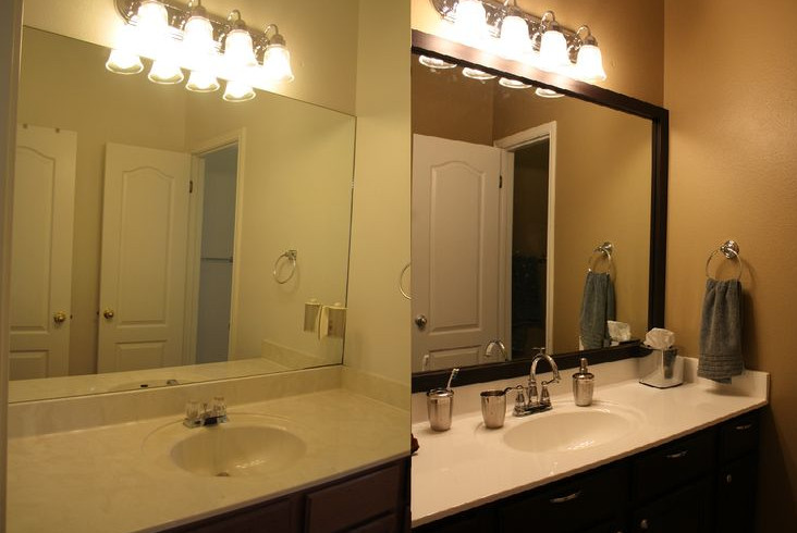 Bathroom mirrors cabinets