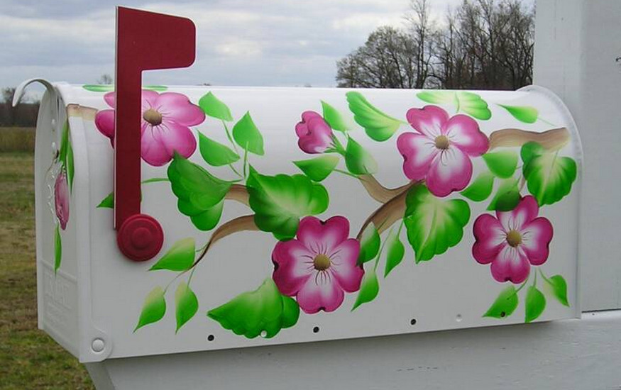 hand painted mailbox designs. Hand Painted Mailboxes Cape Cod Mailbox Designs I