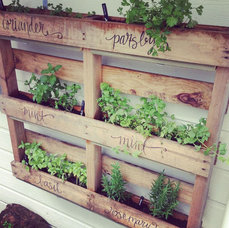 herb garden containers ideas | interior design ideas