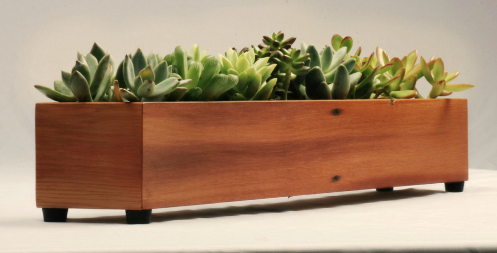 indoor window sill planter box