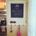 Chalkboard Key Holder from Etsy