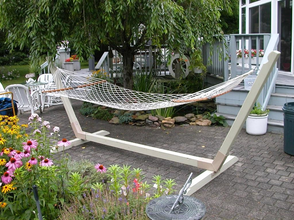 Medium image of diy hammock stand kit reviews