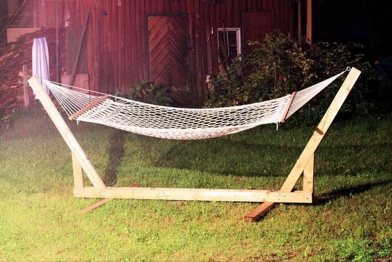 DIY Hammock Stand The Owner-Builder Network
