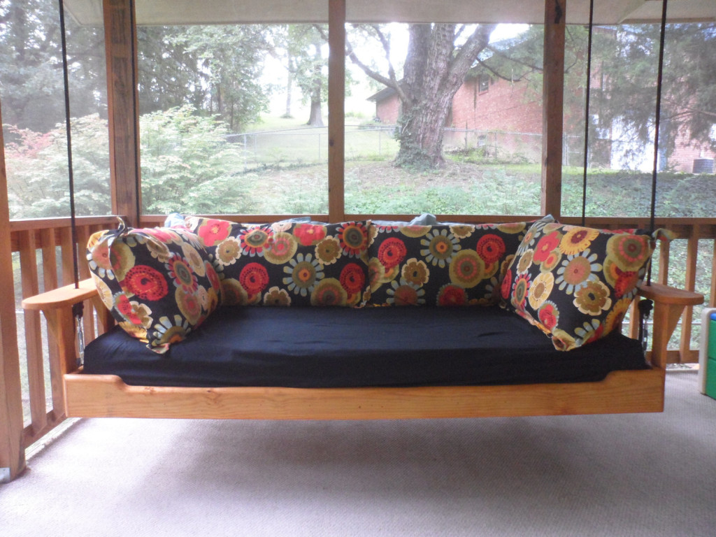 Hanging Porch Bed Swing on Etsy