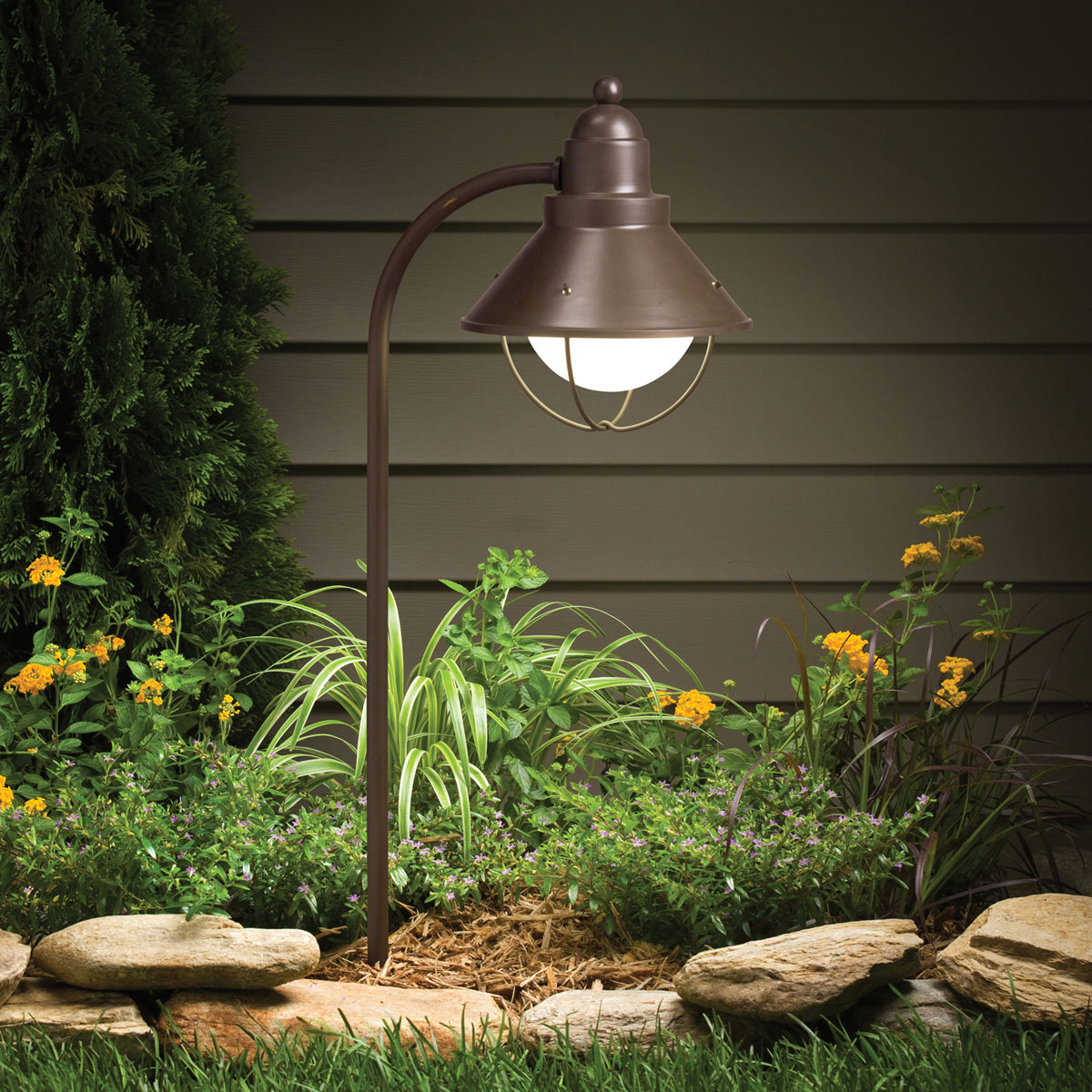 Outdoor Path Lighting Bronze