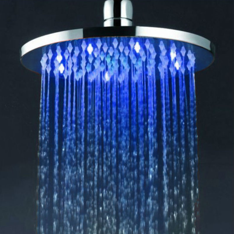 Powered Led Waterfall Shower Head