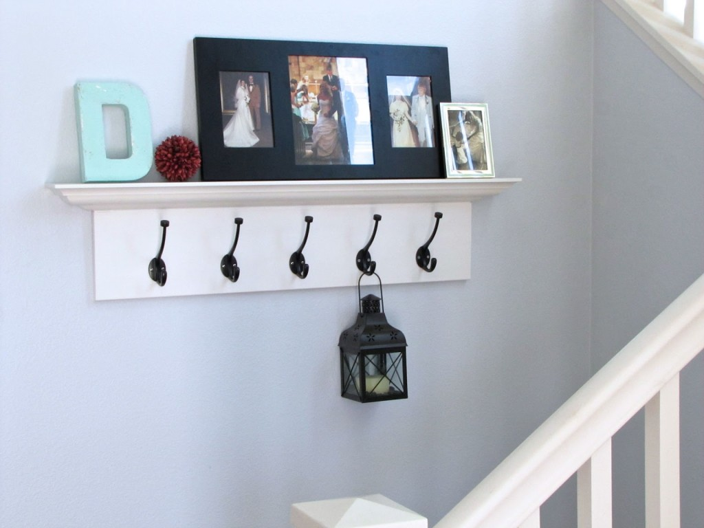The Modest Homestead: Shelves With Hooks