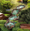 backyard water fountain pictures