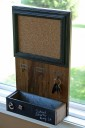 chalkboard key holder Bulletin Board
