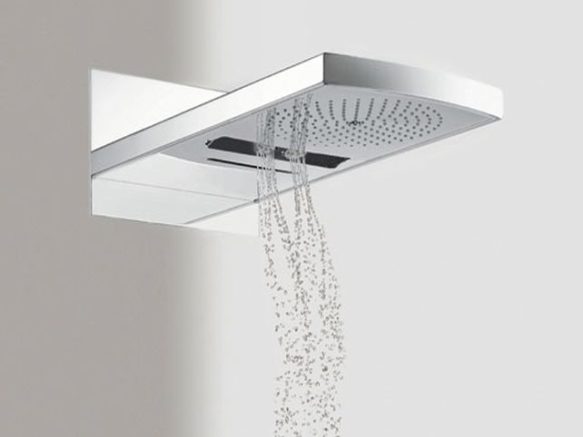 and the accuracy of the shower design hansgrohe waterfall shower head
