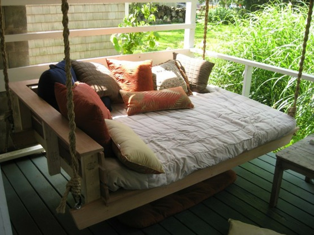 image source hanging porch bed ideas