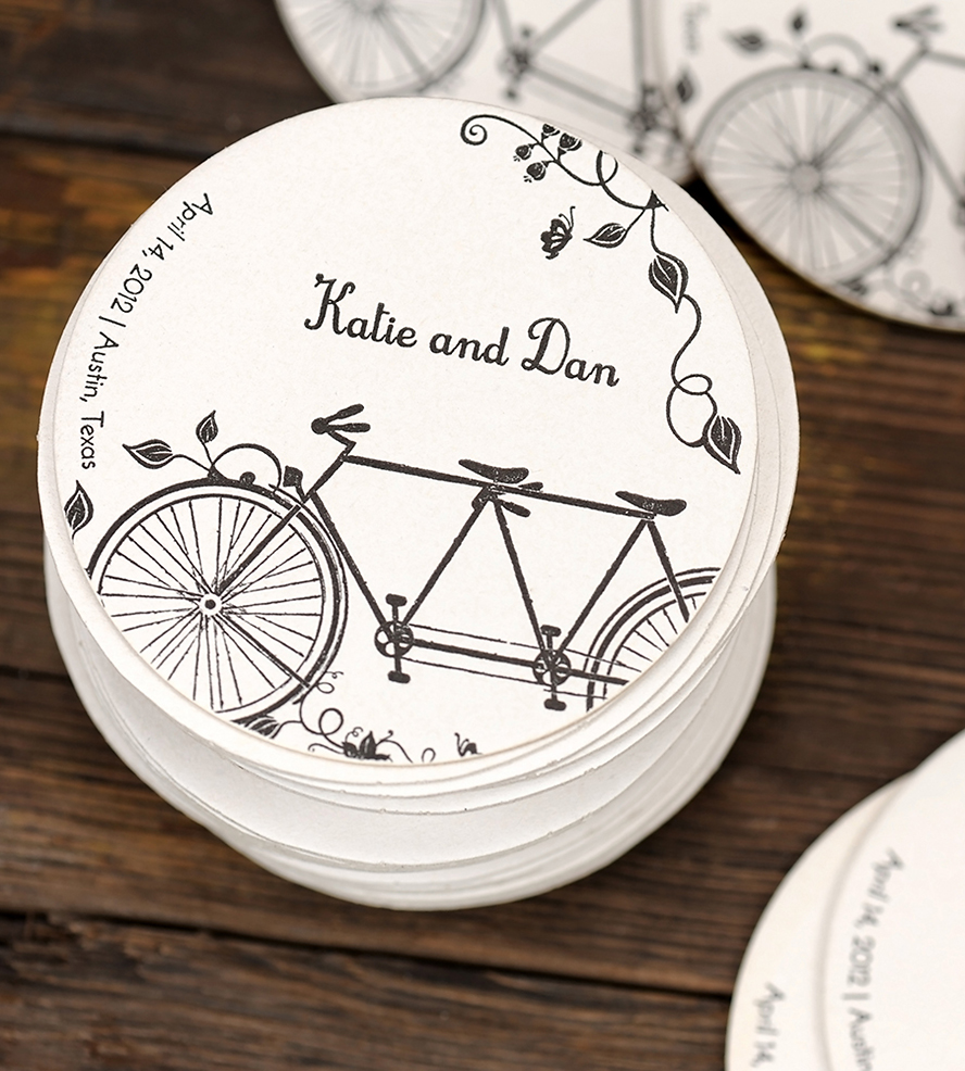 Personalised Wedding Coasters | Interior Design Ideas