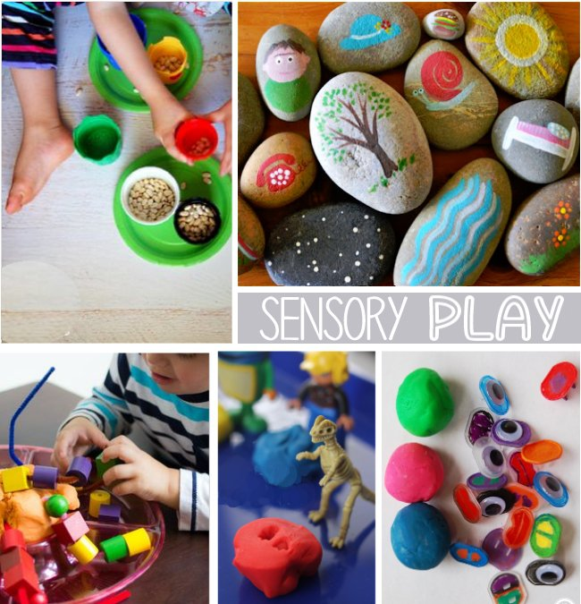 sensory activities for 2 year olds