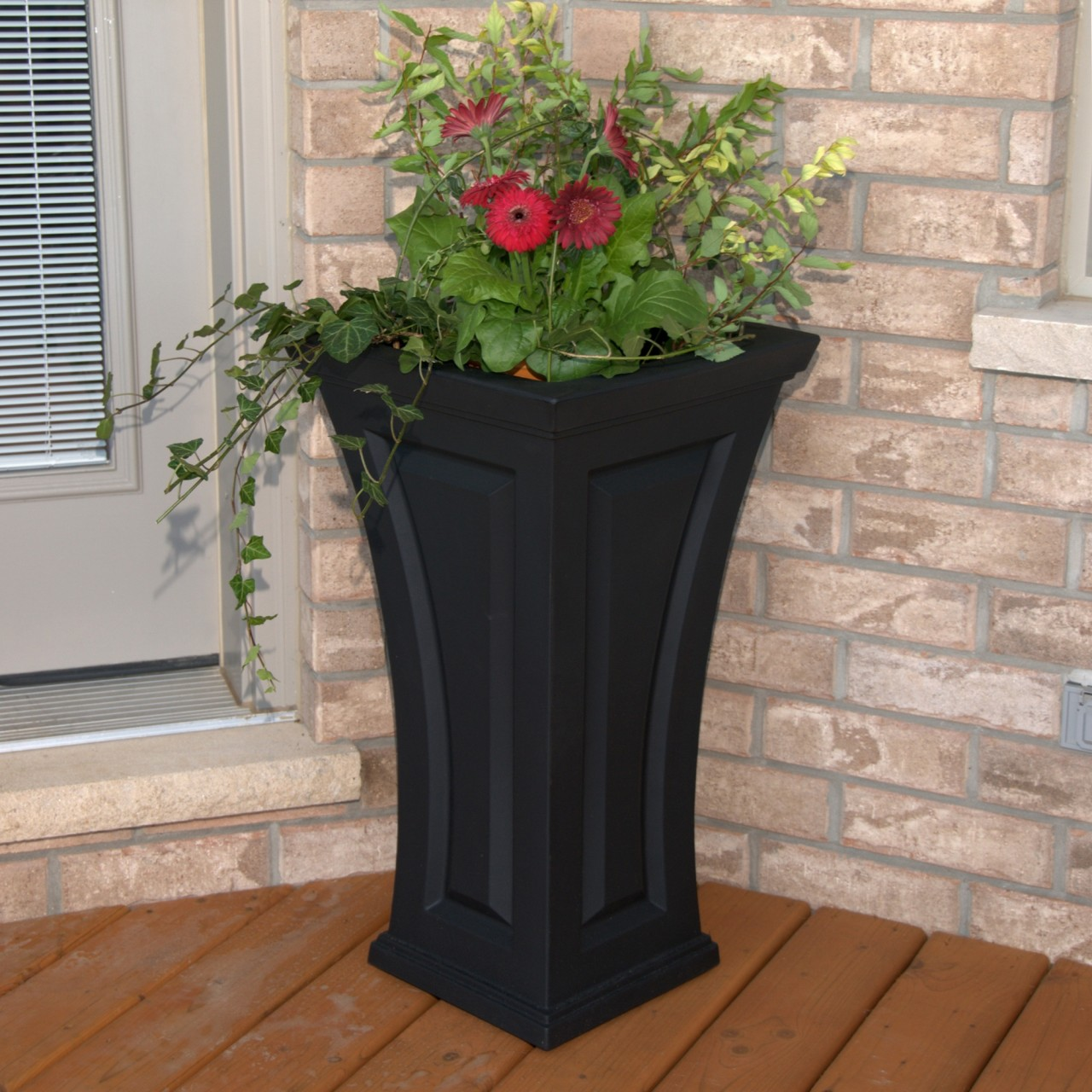 Tall outdoor planter ideas cambridge interior design ideas for Garden planter ideas