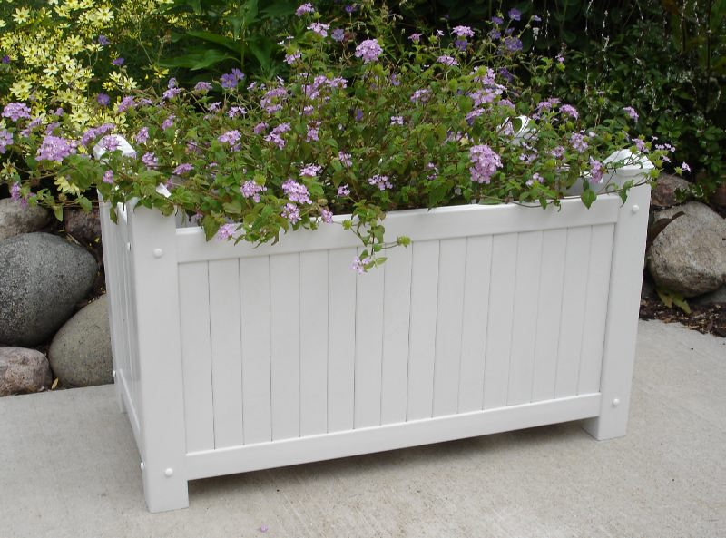 Tall Outdoor Planters And How To