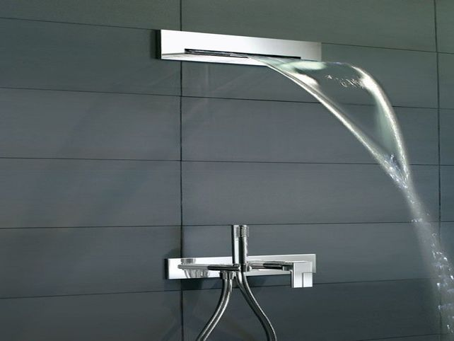 waterfall shower head kohler