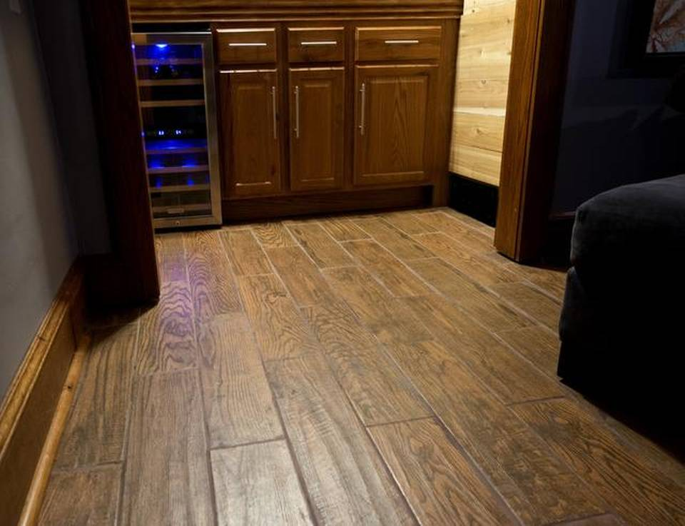 wood grain tile Floors Completely Classy Touch