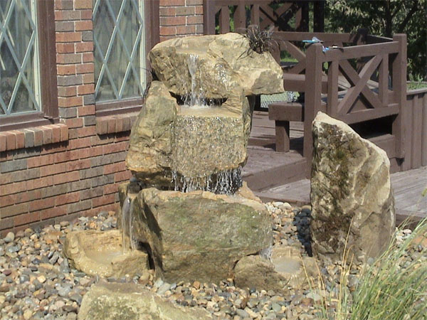 handcarved stone water fountains